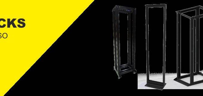 racks de piso 4 postes